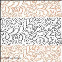 Digital Quilting Design Sue's Pantograph 32 by Sue Patten.