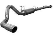 "aFe MACH Force XP 4"" DPF Race exhause w muffler 49-43029"