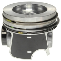 Mahle Piston Assemblies (All 8 Cylinders, With Rings), '08-'10 Ford IH Wide Bowl 6.4L PowerStroke Diesel Engine.