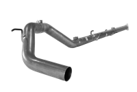 "Flo Pro 4"" Downpipe Back Exhaust Kit-Stainless"