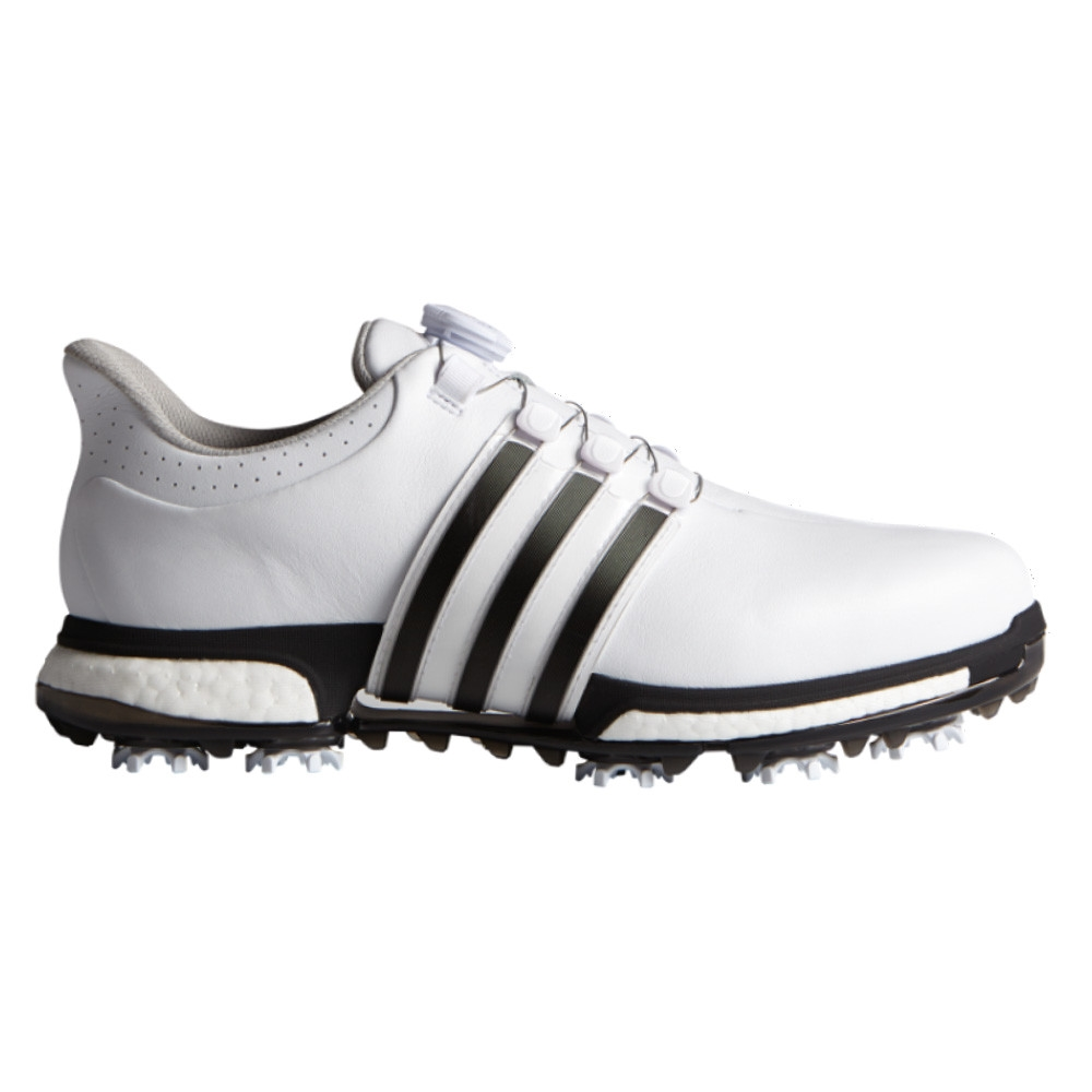 Adidas Tour 360 BOA Boost White/Core Black/Dark Silver ...