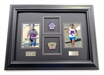 Glory Endurance Dual Photo and Medal Display Frame