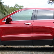 Cadillac XT4 (2 Door) Painted Side Body Moldings with Chrome Inserts