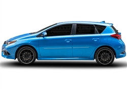 Scion iM Painted Side Molding Reduce Door Dings