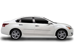 Nissan Altima Painted Side Molding Reduce Door Dings