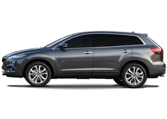 Mazda CX9 Painted Side Molding Reduce Door Dings