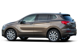 Buick Envision Painted Side Body Moldings with Color Inserts