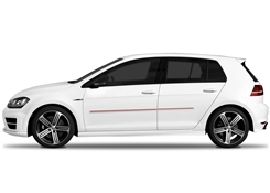 Volkswagen Golf Painted Side Molding Reduce Door Dings