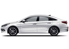 Hyundai Sonata Painted Side Molding Reduce Door Dings