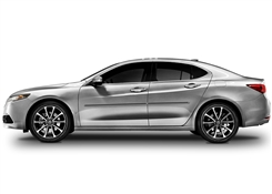 Acura TLX Painted Side Molding Reduce Door Dings