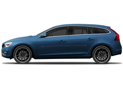 Volvo V60 Painted Side Molding Reduce Door Dings