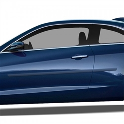 Cadillac ATS Painted Side Molding Reduce Door Dings