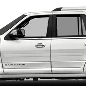 Lincoln Navigator Painted Side Molding Reduce Door Dings