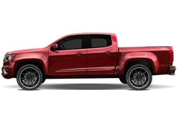 GMC Canyon Painted Side Molding Reduce Door Dings