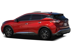 Nissan Murano Painted Side Molding Reduce Door Dings