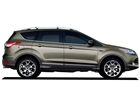 Ford Escape Lower Chrome  Body Moldings