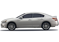 Nissan Maxima Chrome Side Body Moldings