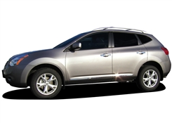 Nissan Rogue Chrome Side Body Moldings