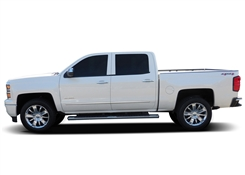 GMC Sierra Chrome Side Body Moldings