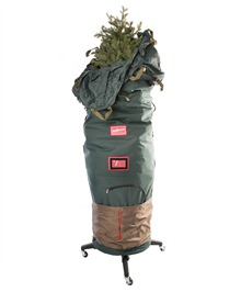 6-7.5' Upright Rolling Christmas Tree Storage Bag Deluxe