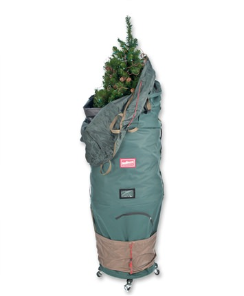 Medium TreeKeeper Pro Christmas Tree Storage Bag with 2 Way Rolling Stand
