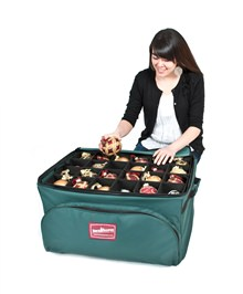 3-Tray Deluxe Christmas Ornament Storage Bag