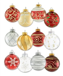 Holiday Traditions Ornament Set