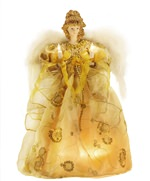 14 inch Golden Angel Tree Topper