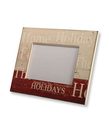 Home for the Holidays Picture Frame