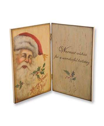 Merry Christmas Santa Decorative Folding Book