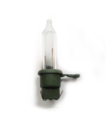 String Light Replacement Clear Bulb Green Wire Old