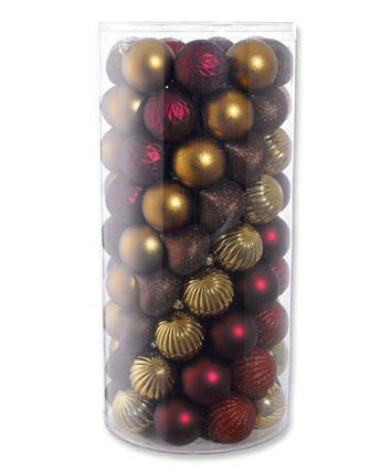 Bronze Decadence Christmas Ornament Kit