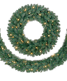 Austrian Spruce Wreaths and Garlands
