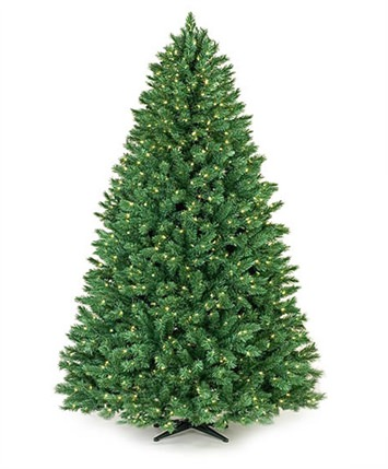 Mayfair Pine Led Artificial Christmas Tree