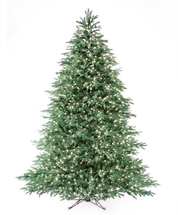 Tiffany Blue Spruce Led Artificial Christmas Tree