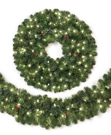 sedona fir wreaths garlands