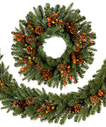 Countryside Christmas Wreath