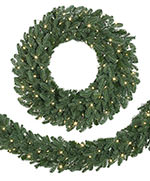 Grand Fir Artificial Christmas Wreath