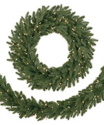 Kennedy Fir Artificial Christmas Wreath