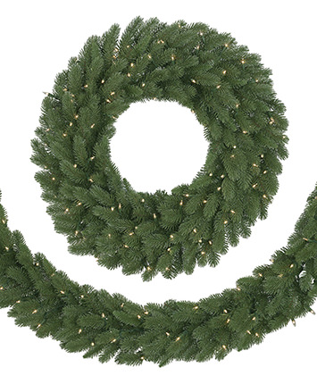 Classic Fraser Fir Artificial Christmas Wreath