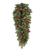 Woodbury Classic Noble Fir Artificial Christmas Teardrop