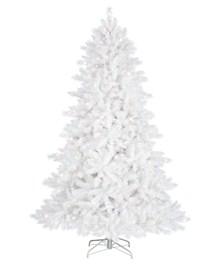 Alpine White Christmas Tree