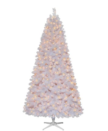 Winterland Pine 7.5 Foot White Christmas Tree