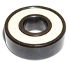 16 Roller Skate Black Bearings with Bronze Cage and white Seals 8x22x7 mm