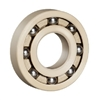 6205 Open made in Japan Peek Ball Bearing  with PTFE Cage 25x52x15