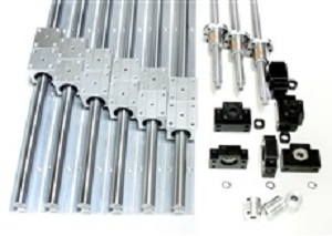 4x4 Feet CNC Router Kit 16mm Rails and BallScrews