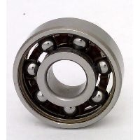 Chrome Steel 608 Miniature Open Ball bearing with Nylon Cage 8x22x7