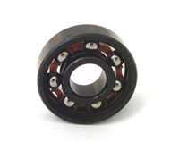 Chrome Steel 608B Miniature Open Ball bearing with Nylon Cage 8x22x7