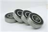 6206-2RS Ball Bearing Dual Sided Rubber Sealed Deep Groove (4PCS) Bore Dia. 30mm OD 62mm Width 16mm