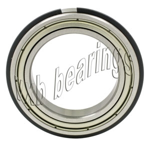 6206ZZNR Shielded Bearing with snap ring groove + a snap ring 30x62x16